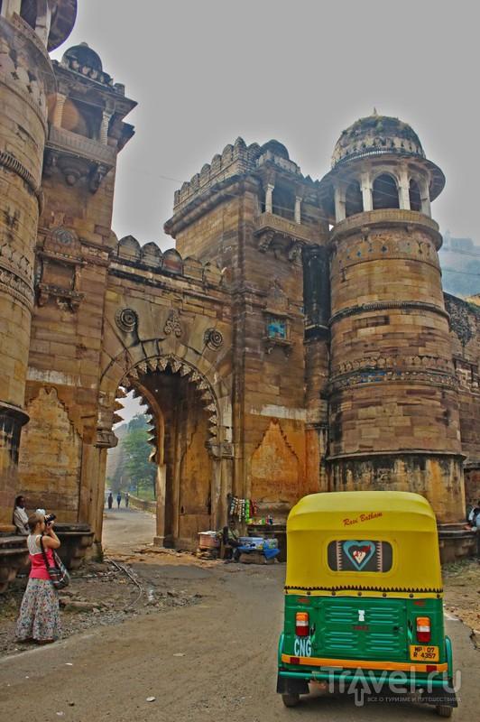 Форт Гвалиор. Мадья-Прадеш / Фото из Индии