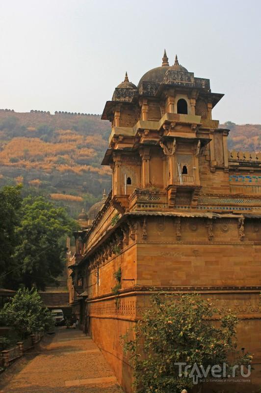 Дворец Gujari Mahal, Индия / Фото из Индии