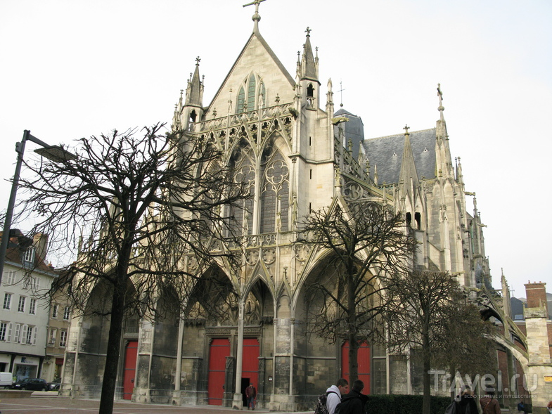 Базилика Святого Урбана в Труа, Франция / Фото из Франции