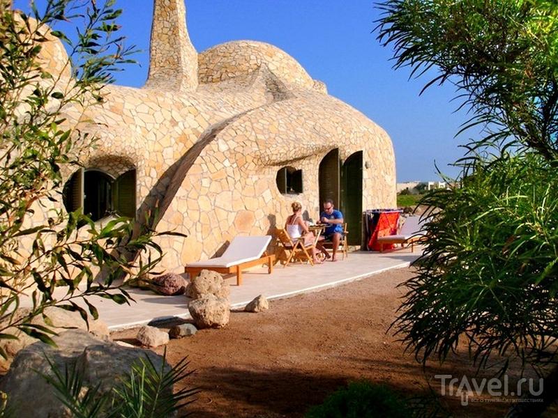 Turtle House - воплощение немецких ноу-хау и традиционных египетских методов строительства / Египет