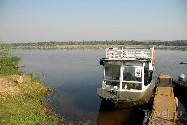 На реке Нил Уганда / Фото из Уганды