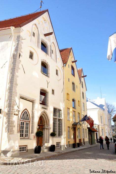 """Дома """"Три сестры"""" в Таллине, Эстония / Фото из Эстонии"""