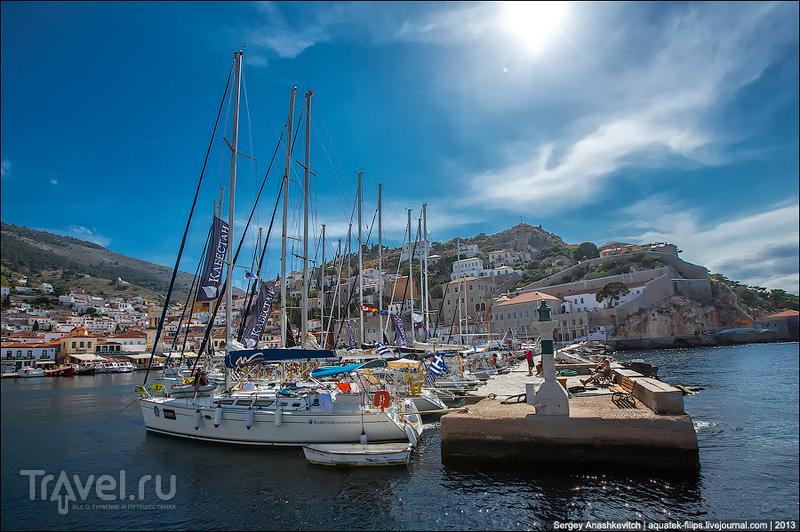 Город-порт Идра, Греция / Фото из Греции