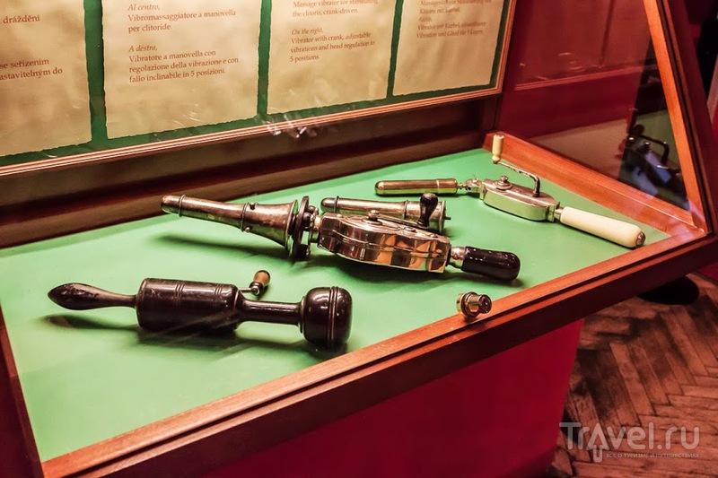 Музей секс машин в Праге / Чехия