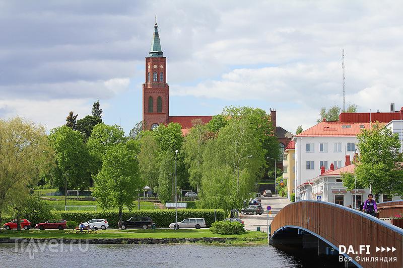 В городе Савонлинна, Финляндия / Фото из Финляндии