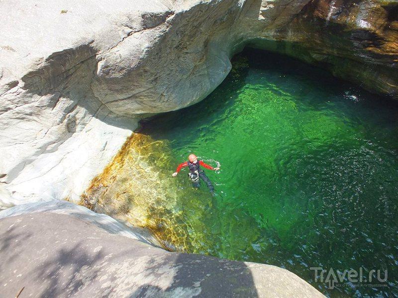 17 шагов в каньоне Богерра / Швейцария