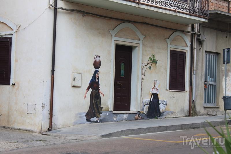 Сардиния. Настенная живопись
