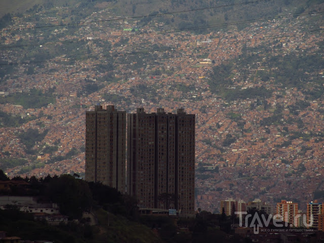 В городе Медельин, Колумбия / Фото из Колумбии