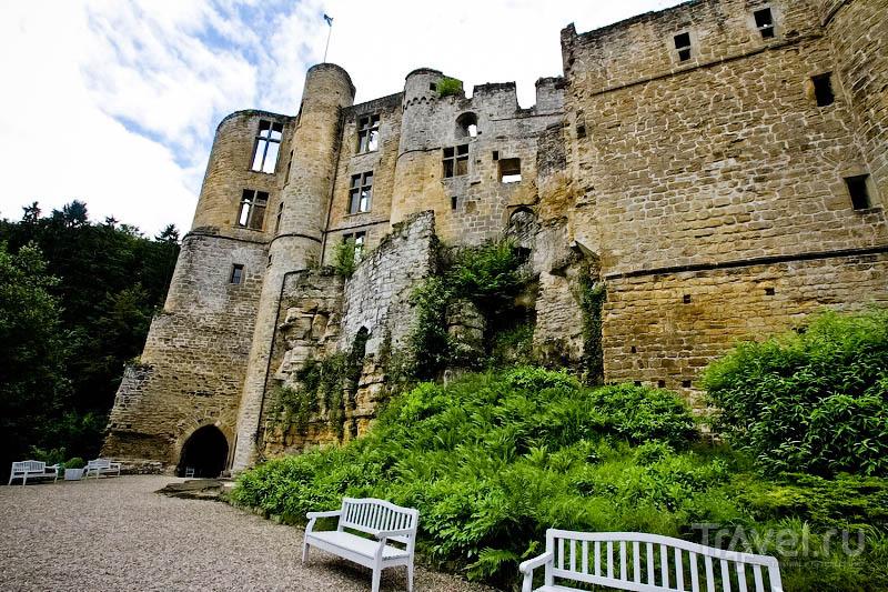 Замок в деревеньке Бофор / Люксембург