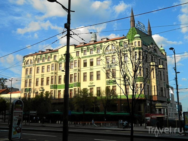 "Гостиница ""Москва"" в Белграде, Сербия / Фото из Сербии"