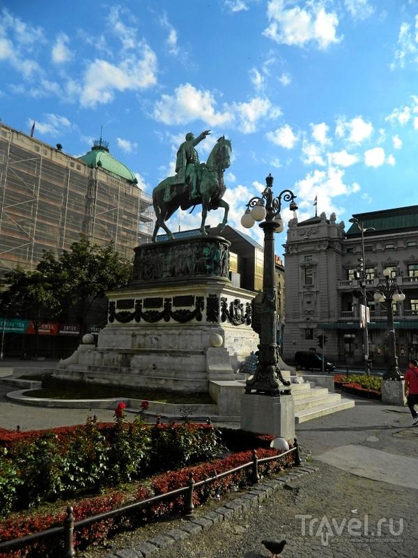 Площадь Республики в Белграде, Сербия / Фото из Сербии