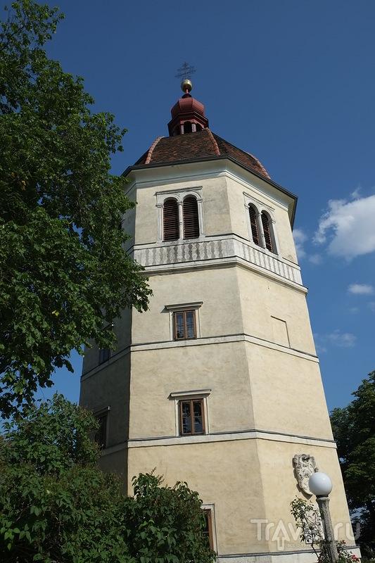 Крепость Шлоссберг в Граце, Австрия / Фото из Австрии