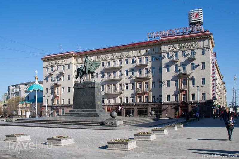Памятник Юрию Долгорукому в Москве, Россия / Фото из России
