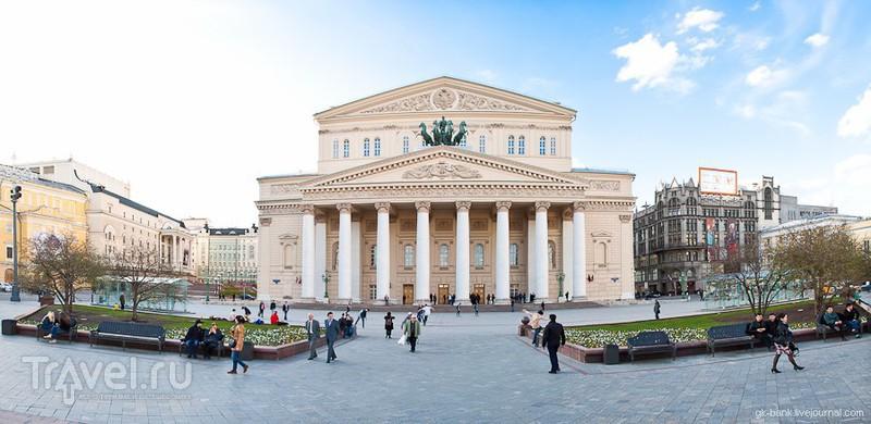 Большой театр в Москве, Россия / Фото из России