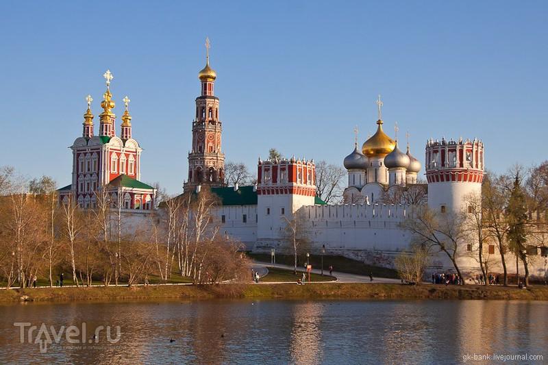 Новодевичий монастырь в Москве, Россия / Фото из России