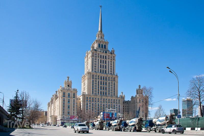 """Гостиница """"Украина"""" в Москве, Россия / Фото из России"""