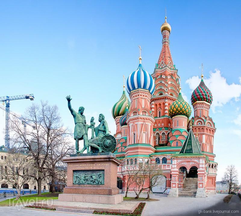 Памятник Минину и Пожарскому в Москве, Россия / Фото из России