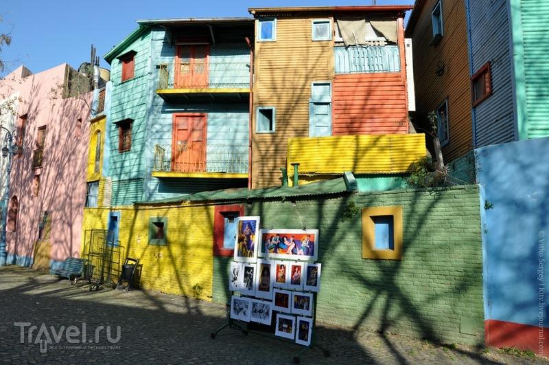РАйон La-Boca в Буэнос-Айресе, Аргентина / Фото из Аргентины