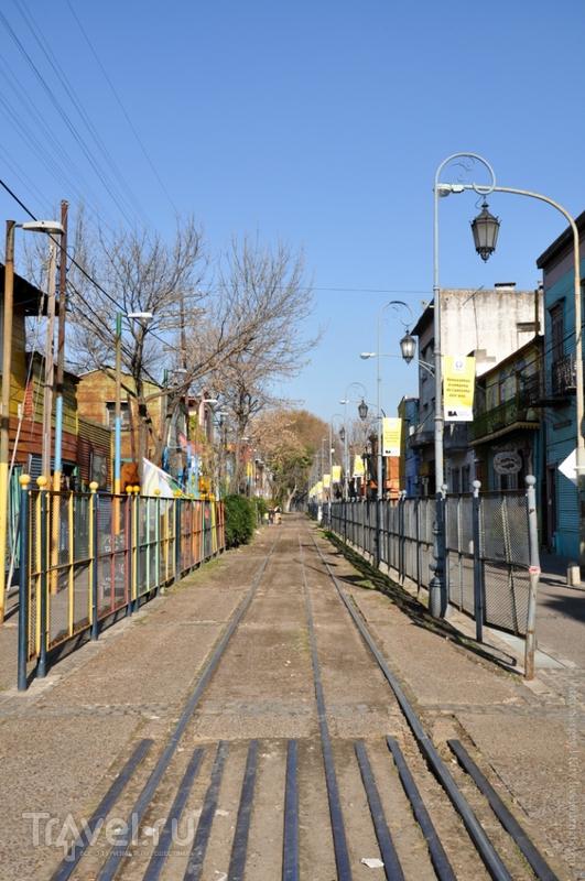 La-Boca - аргентинский Арбат / Фото из Аргентины