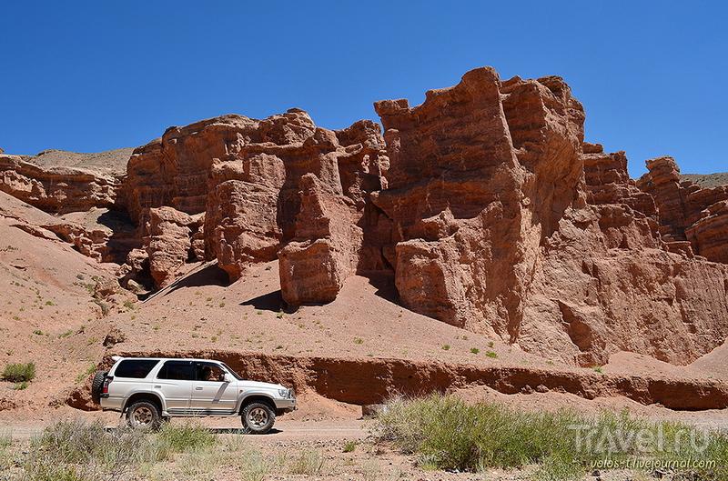 Бастионы Чарынского каньона / Фото из Казахстана