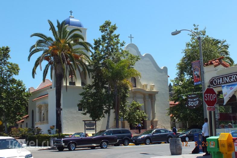 Калифорния. Сан-Диего. Старый город / США