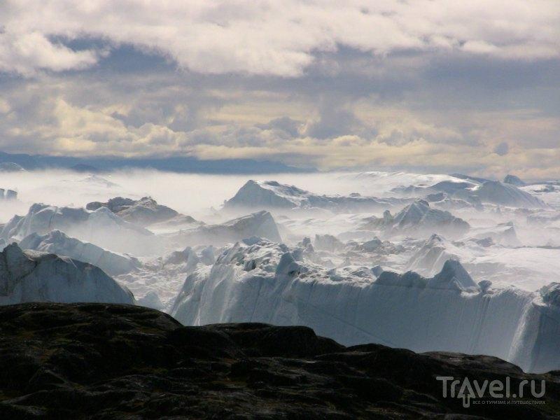 Фьорд Илулиссат в Гренландии / Гренландия