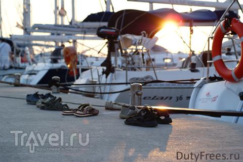 Яхтинг в Хорватии. Первый раз - и сразу на регату! / Хорватия
