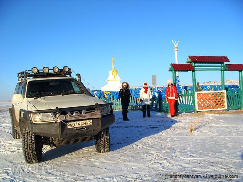 Цугольский дацан и озеро Ножий / Россия
