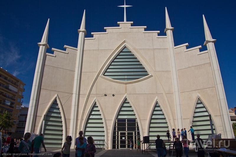 Приход Святейшего Сердца Иисуса в Торревьехе, Испания / Фото из Испании