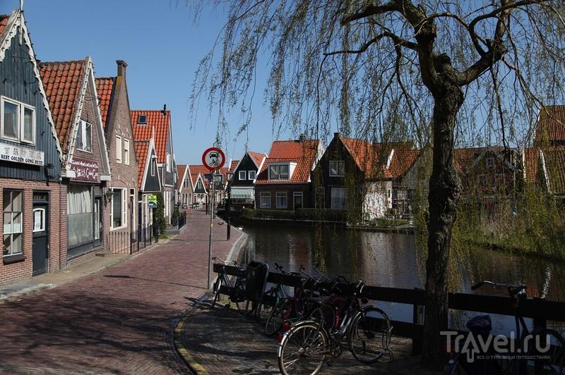 В городе Волендам, Нидерланды / Фото из Нидерландов