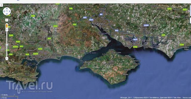 Фотографии острова Броунси (Brownsea Island) / Великобритания