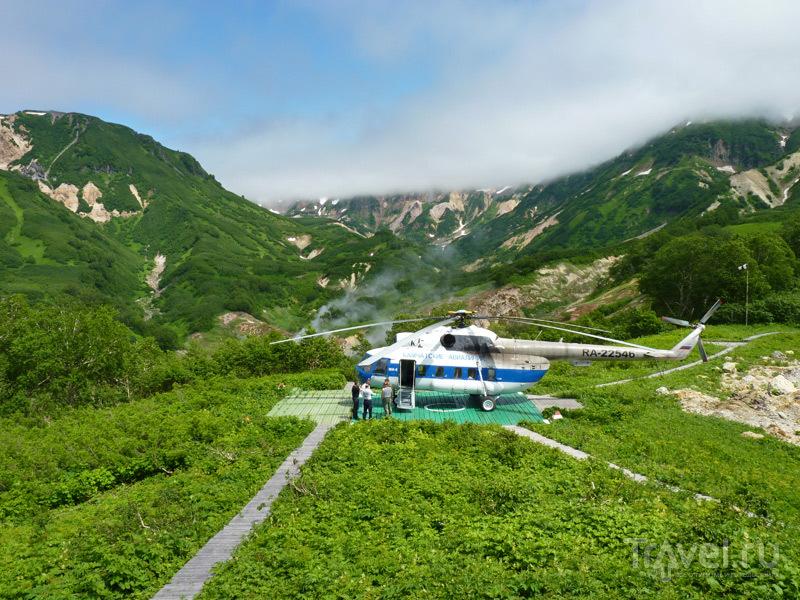 Вертолетные экскурсии - самый удобный вариант путешествия по Долине гейзеров, Камчатка / Россия