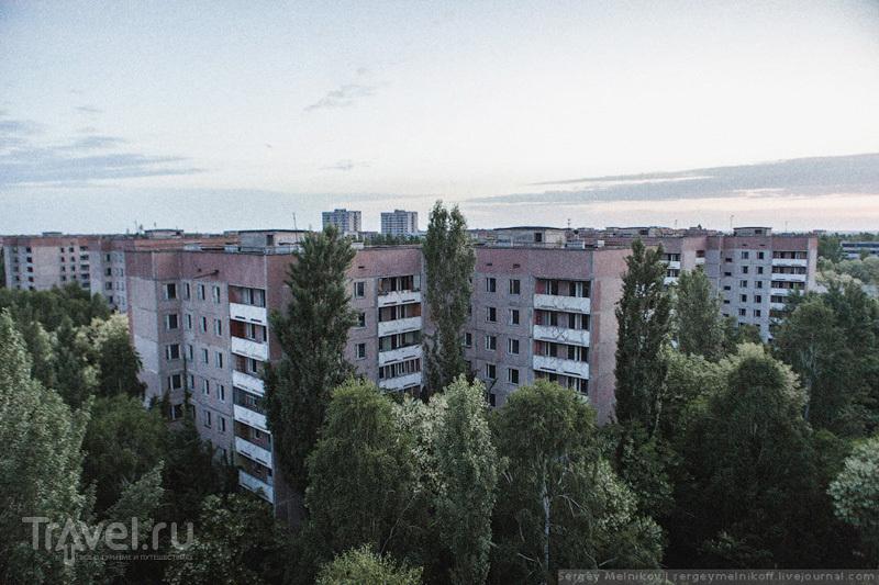В городе Припять, Украина / Фото с Украины