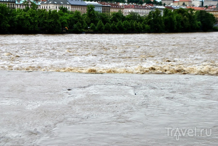 Прага в воде / Чехия