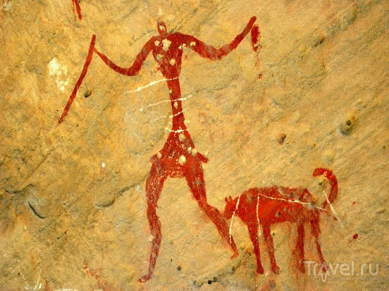 В 1985 году тысячи пещерных росписей в пустыне Сахара были внесены в Список ЮНЕСКО / Ливия