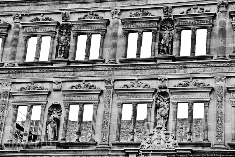 Хайдельберг: самые знаменитые руины Германии / Фото из Германии
