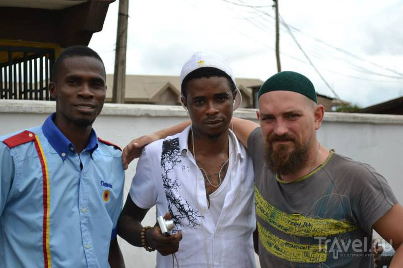 По джунглям Нигерии на джипе. Без охраны и сопровождения / Бенин