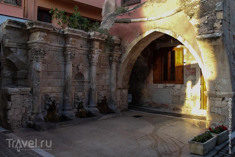 Фонтан Римонди в Ретимноне, Греция / Фото из Греции