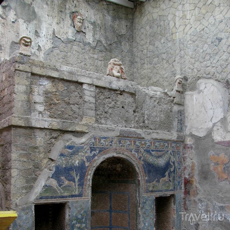 В краю сирен и лимончелло. Геркуланиум / Италия