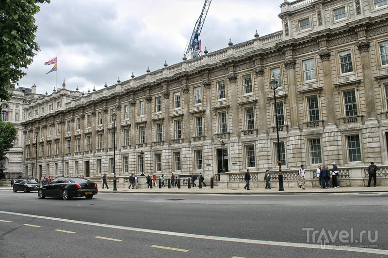 На улице Уайтхолл в Лондоне, Великобритания / Фото из Великобритании