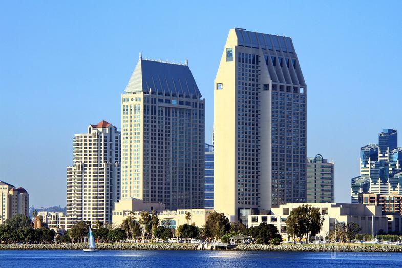 """Остров Коронадо и отель """"Дель Коронадо"""" в Сан-Диего, США / Фото из США"""