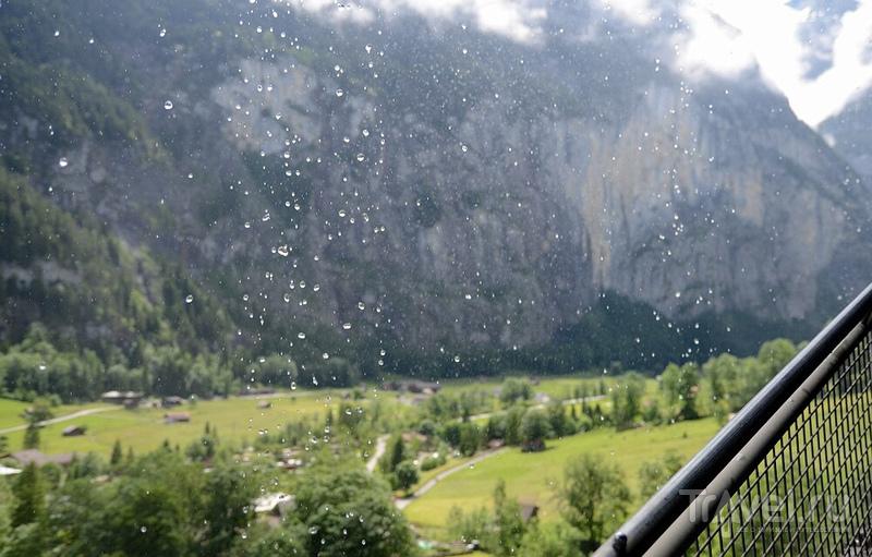Швейцария: водопад Штауббах (Staubbach) / Фото из Швейцарии