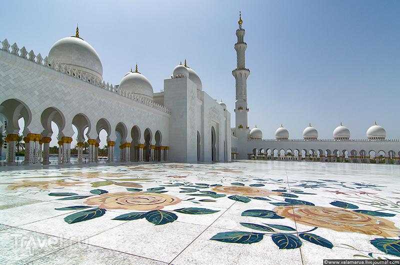 Абу-Даби, Мечеть шейха Зайда / Фото из ОАЭ