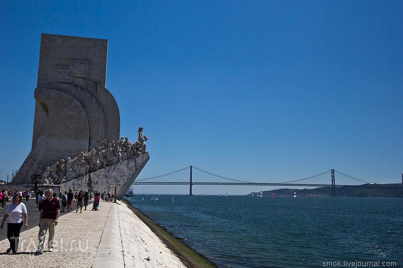 Монумент Первооткрывателям в Лиссабоне, Португалия / Фото из Португалии