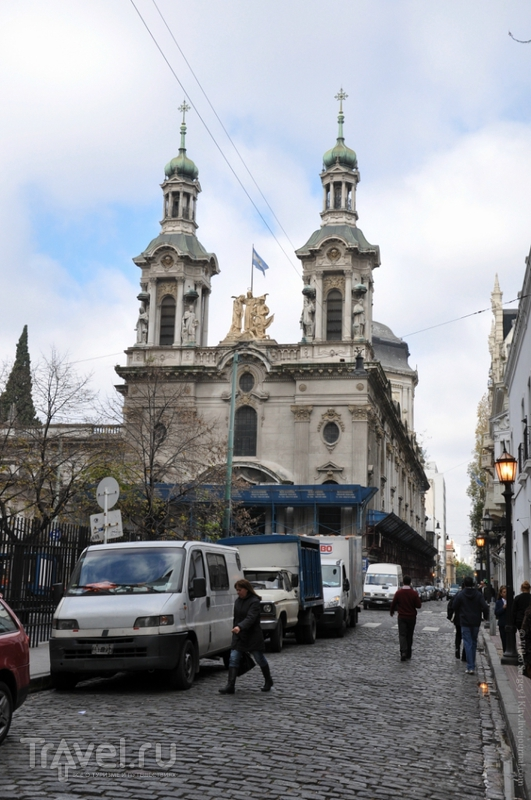 Церковь Сан-Франциско в Буэнос-Айресе, Аргентина / Фото из Аргентины