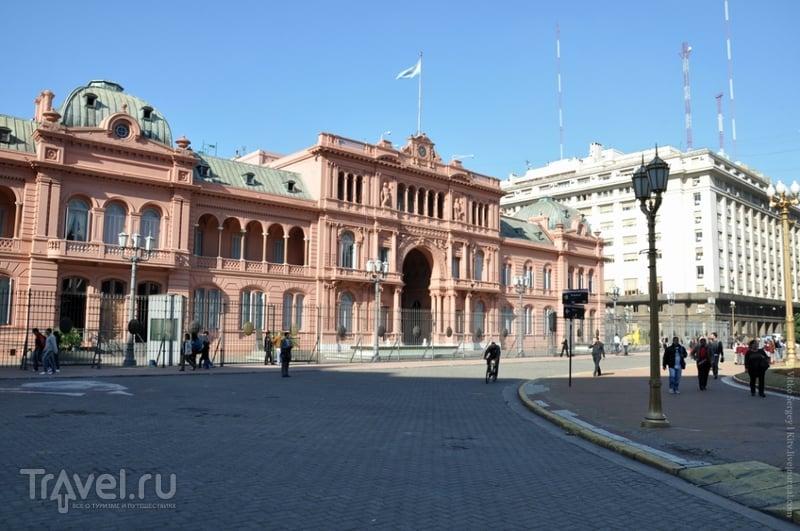 Каса-Росада (Casa Rosada) в Буэнос-Айресе, Аргентина / Фото из Аргентины