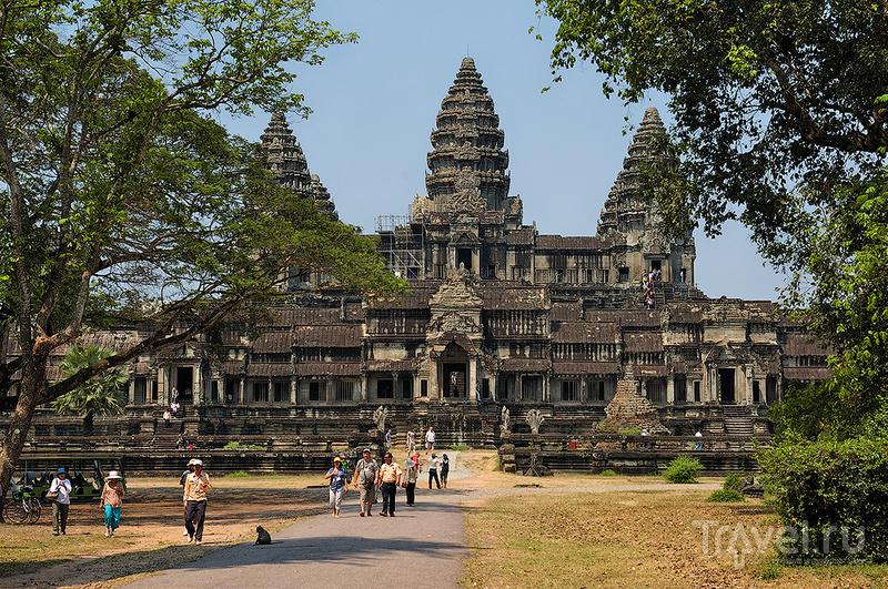 Храм Ангкор-Ват, Камбоджа / Фото из Камбоджи
