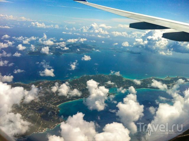 Аэропорт на острове Сен-Мартен / Фото из Сен-Мартена