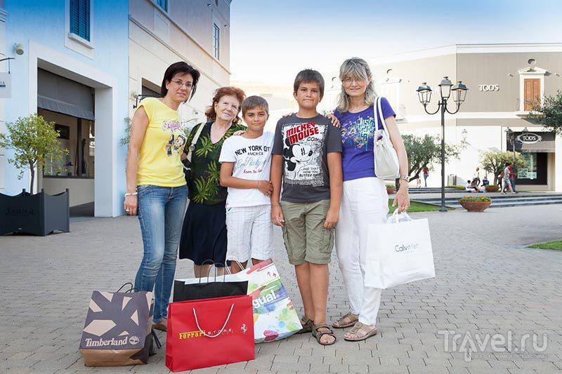 После продуктивного шопинга