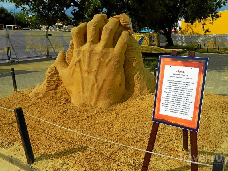 Коломенское. Выставка скульптур из песка и музей деревянного зодчества / Фото из России